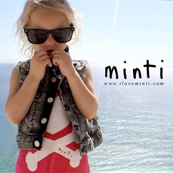 Minti Kids Clothing from Australia at Bubble London