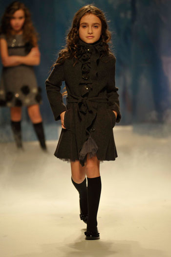 ELSY Girls Clothing on The Catwalk at Pitti Bimbo  Italy