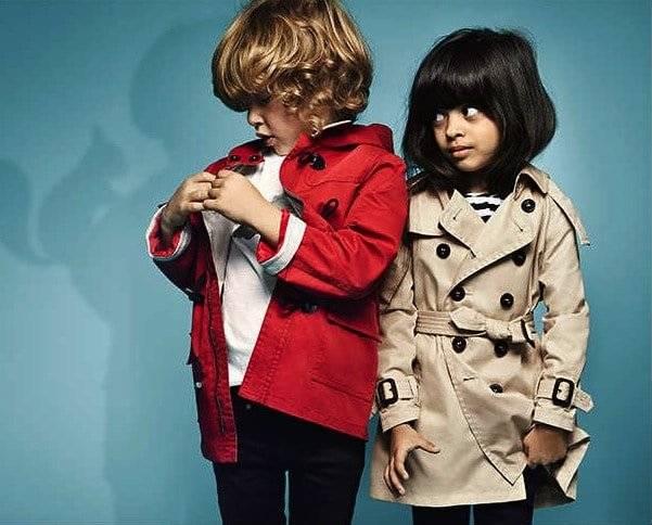 2758f3e53 Burberry Baby Girls Grey Wool Hooded Duffle Coat | Dashin Fashion