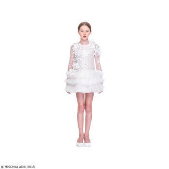 Mischka Aoki Love Me I am Beautiful Dress SS15