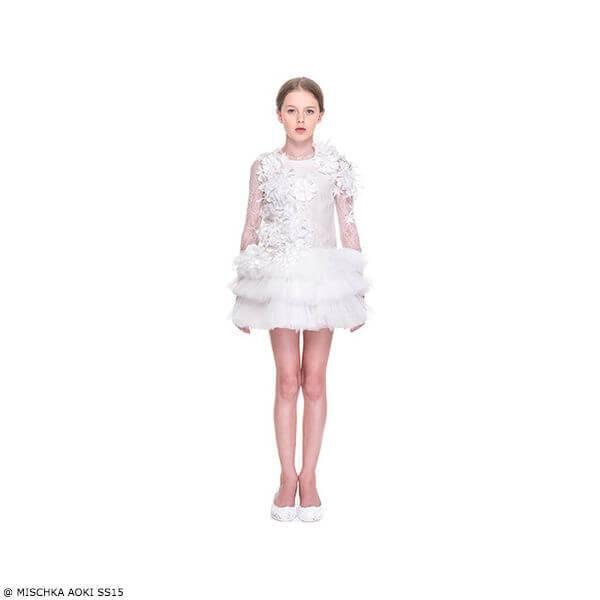 Mischka Aoki Love Me I am Beautiful Dress SS15
