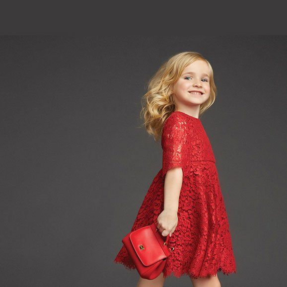 Dolce and Gabbana Red Lace Dress