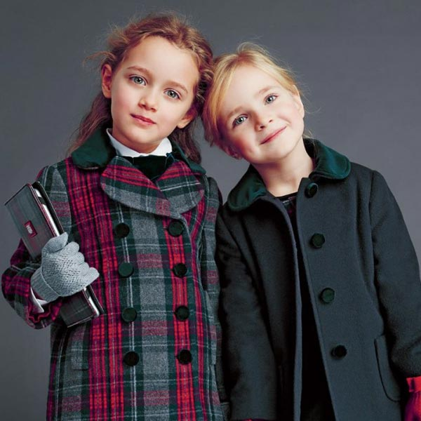 Dolce and Gabbana Junior Girls Winter 2014-15 Tartan Look