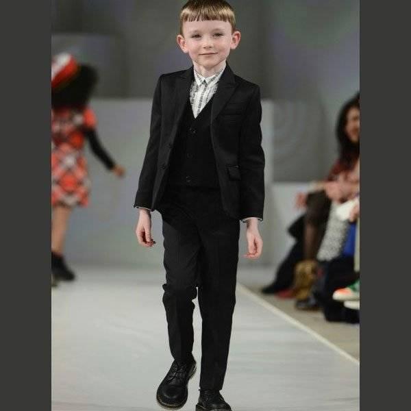 Junior Gaultier Boys Wool Suit