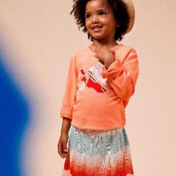 Missoni Fine Knit Zig Zag Skirt & T-shirt