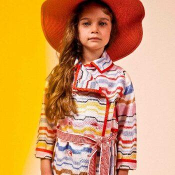 Missoni Girls Colorful Jacket