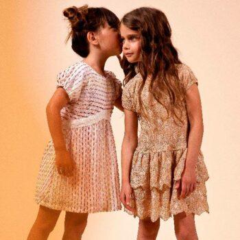 Missoni Girls Chiffon Knitted Dress