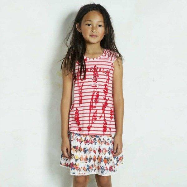 shop look CAKEWALK Cotton Floral Skirt