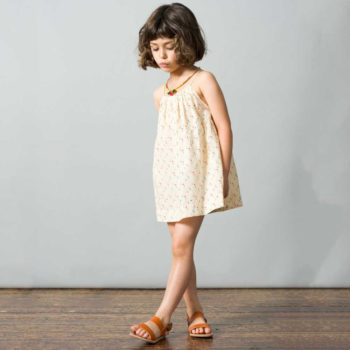 shop look CARAMEL BABY & CHILD Ivory Cotton Tulip Seychelles Dress