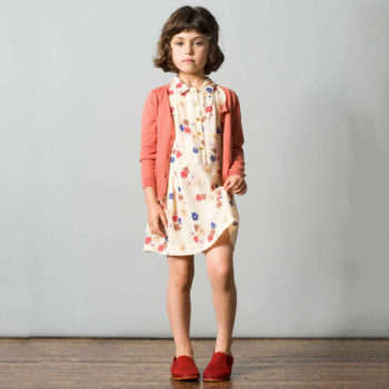 shop look CARAMEL BABY & CHILD Ivory Daisy Isleta Dress
