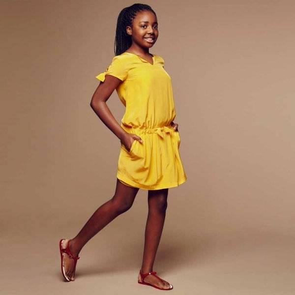 CHLOÉ Yellow Silk Dress Chloé Yellow Silk Dress
