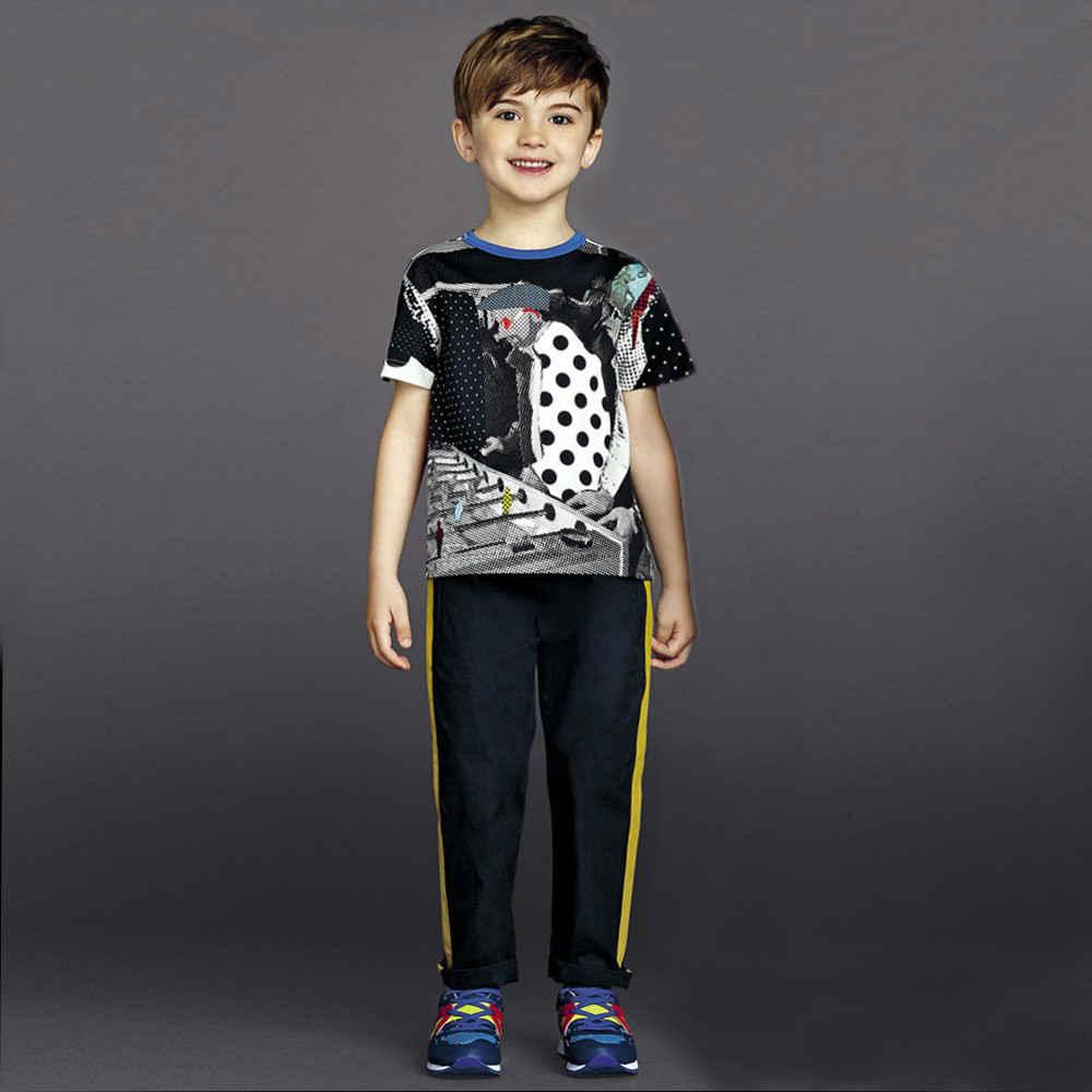 shop look DOLCE & GABBANA Boys T-Shirt With Football Table