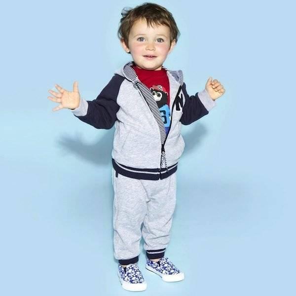 9342766b6 Little Marc Jacobs Boys Grey Tracksuit