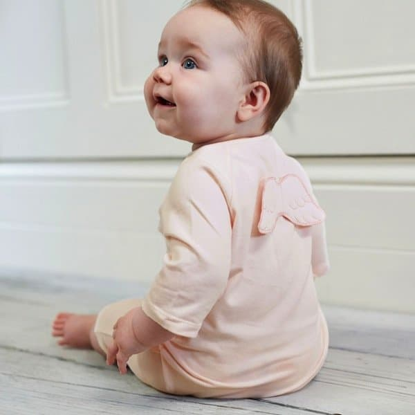 MARIE-CHANTAL PINK COTTON SHORTIE WITH WINGS