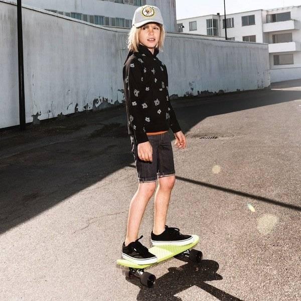 Molo Black Hooded 'Monte' Sweatshirt
