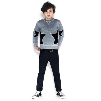 Molo Boys Blue Star Mats Sweatshirt