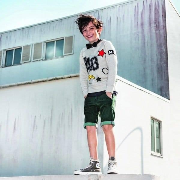 Molo Grey Jersey Jumper Mckay Sweatshirt