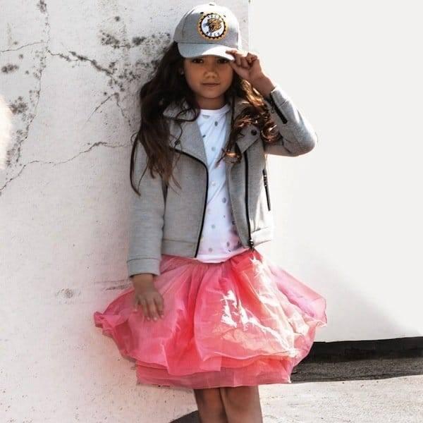 Molo Pink Scrunch Belinda Magic Skirt