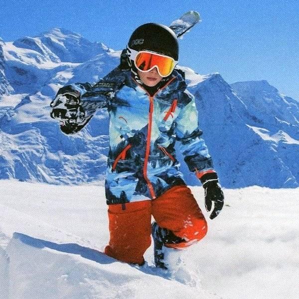 Molo Winter Landscape Alpine Jacket