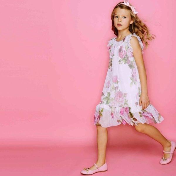shop-look-MONNALISA-CHIC-Vintage-Rose-Print-Mesh-Dress