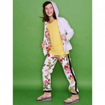 Monnalisa Jungle Floral Print Leggings
