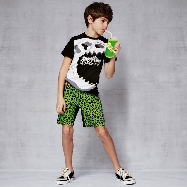 Moschino Boys Leopard & Tiger Shorts