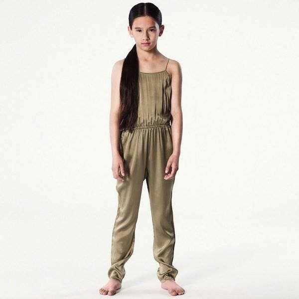 PALE-CLOUD-Olive-Green-Silk-Jumpsuit