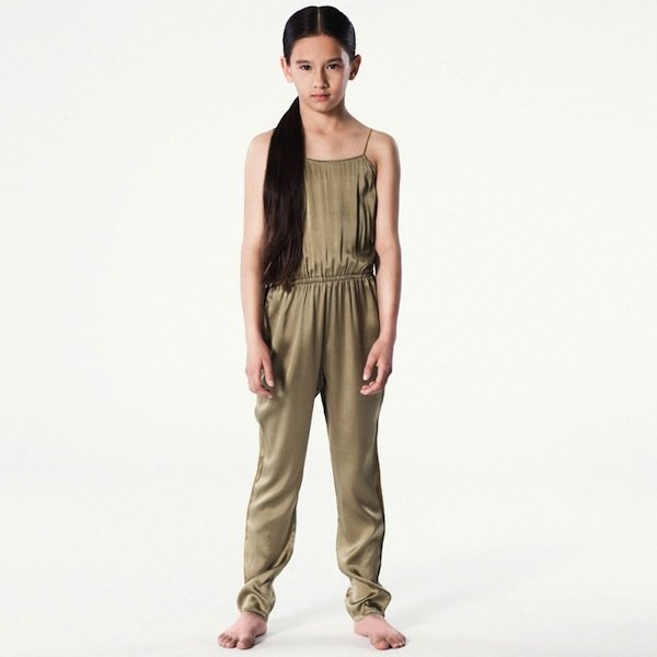 PALE-CLOUD-Olive-Green-Silk-Jumpsuit