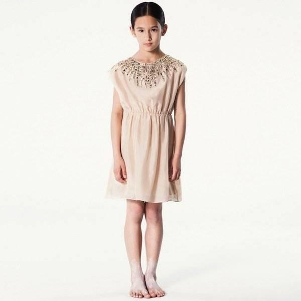 PALE-CLOUD-Peach-Silk-Dress-with-Jewelled-Neckline-