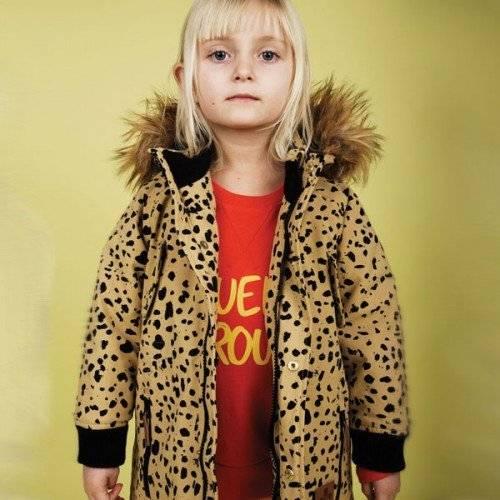 Mini Rodini Beige 'Expedition Siberia' Parka Coat