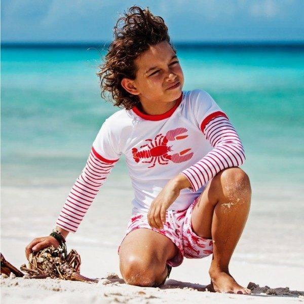 Sunuva Boys Lobster UV Sun Protective Top