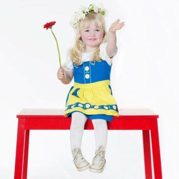 THE TINY UNIVERSE Blue 'The Tiny Swede' Jersey Dress