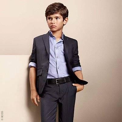 Boss Boys Wollen Suit Jacket Pants