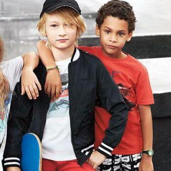 DKNY Boys Windbreaker, Tshirt & Logo SHorts