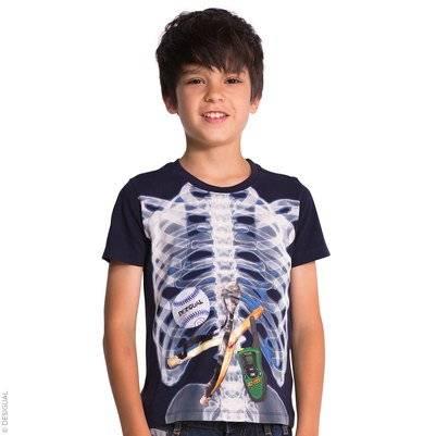 Desigual X-ray jersey T-shirt