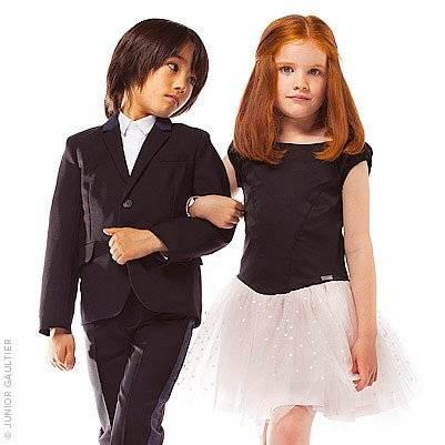 Junior Gaultier Boys Woolen Suit