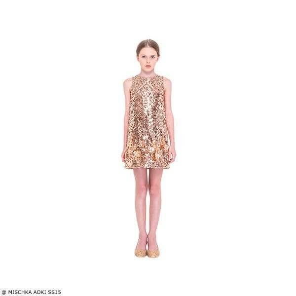 Mischka Aoki Good Night Princess Dress SS15