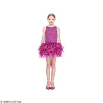 Mischka Aoki It's Like a Dream Dress SS15