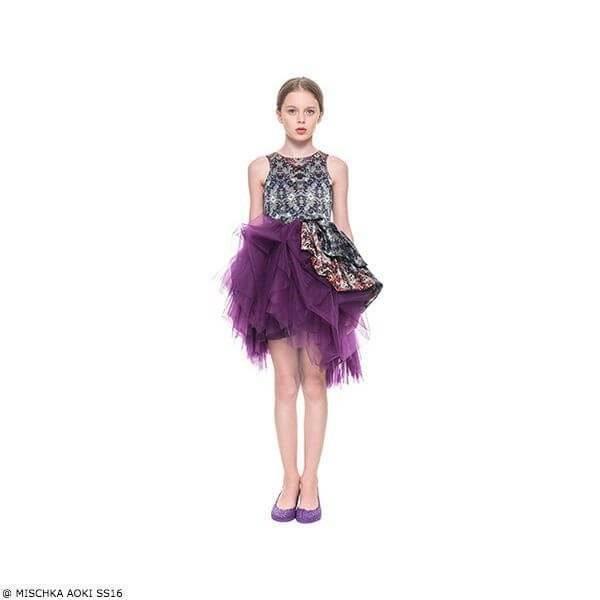 Mischka Aoki It's Midnight Dress SS15
