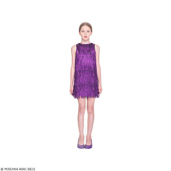 Mischka Aoki On The Stroke of Twelve Dress SS15