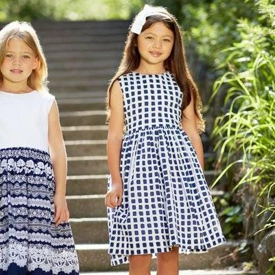 Oscar de la Renta Kentwood Cotton Party Dress