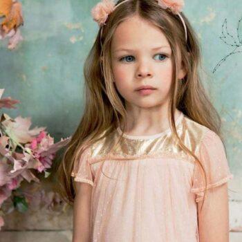 ilovegorgeous Pandora Dress in Shell Pink