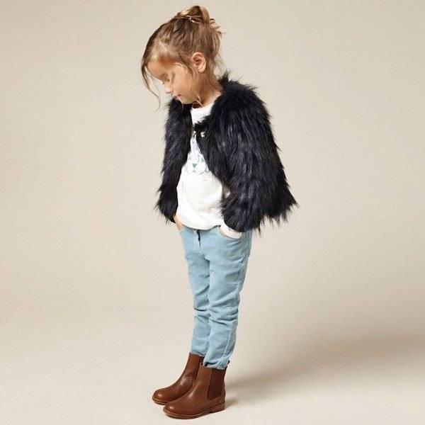 CHLOE-Girls-Dark-Navy-Blue-Synthetic-Fur-Jacket-Look