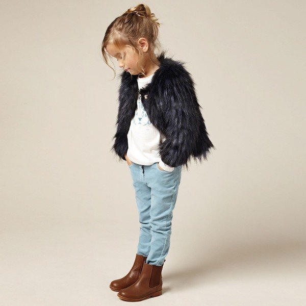 CHLOE-Girls-Dark-Navy-Blue-Synthetic-Fur-Jacket-Look