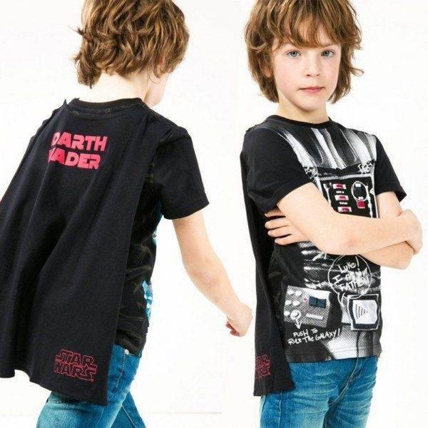 DESIGUAL Boys Star Wars Shirt with Cape