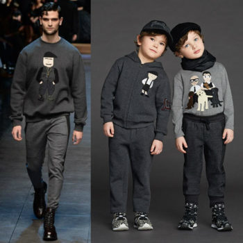 Dolce & Gabbana Boys Mini Me Family Sweatshirt