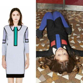 Sonia Rykiel Enfant Mini Me Knit Tie Dress Look