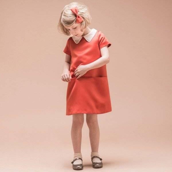 Hucklebones London Red Satin Swarovski Shift Dress