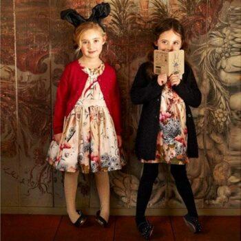 JOTTUM Pink Flower & Fairy Print Dress