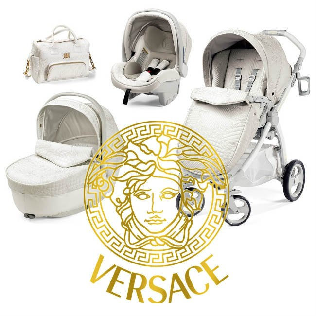 The Trueself Young Versace Stroller White